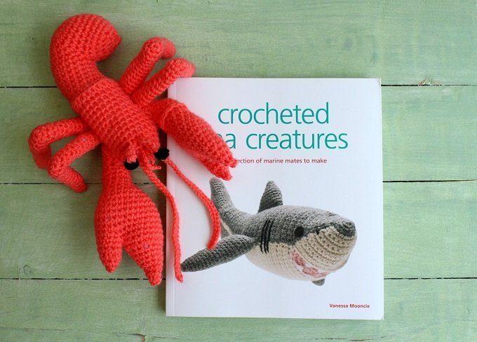 crochet sea creatures book by Vanessa Mooncie