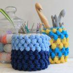 crochet jam jar covers