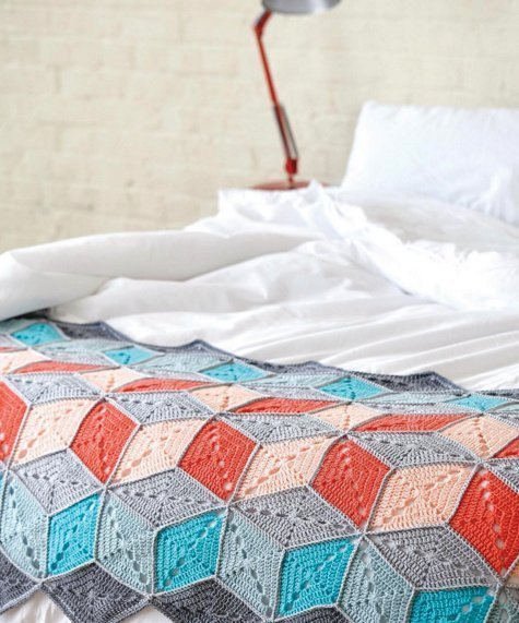 My Big Top Blanket for Crochet Now mag.
