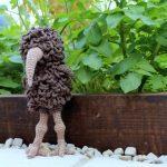 Ethel the crochet emu