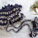 ruffneck crochet cowl by lazy daisy jones