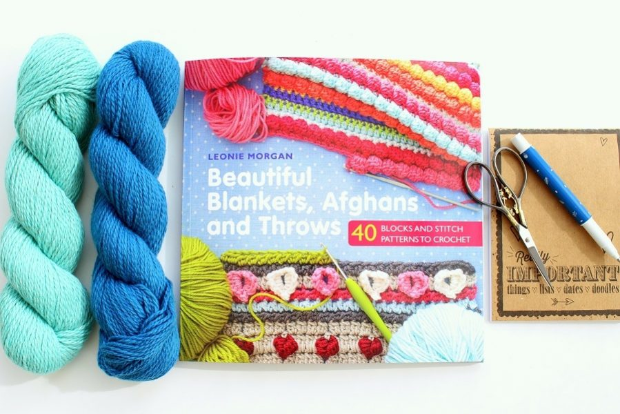 Beautiful Blankets, Afghans and Throws by Leonie Morgan A book Review & giveaway.