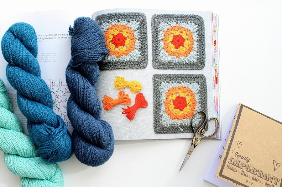 Beautiful Blankets, Afghans and Throws by Leonie Morgan A book Review.