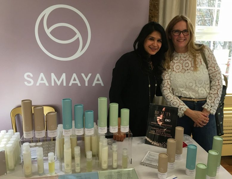 Abida, Samaya founder & Ashley from Lazy daisy jones blog