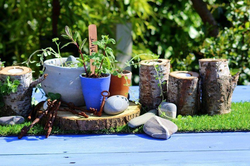 annie sloan garden table makeover