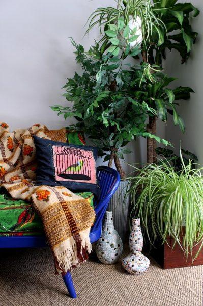 homesense treasure hunting faux plants