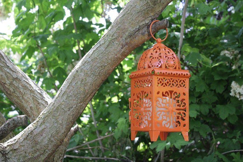 moroccan lantern battery garden light