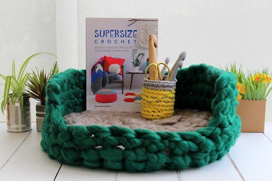 Super Size Crochet Book Review & Blog Hop