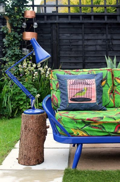 original restored anglepoise lamp patio pimp #ukhomebloghop
