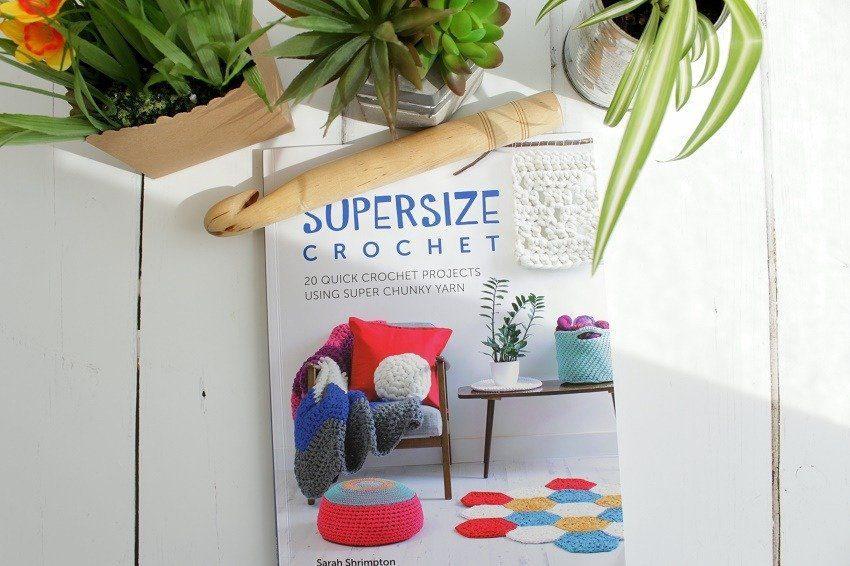 super size crochet by Sarah Shrimpton