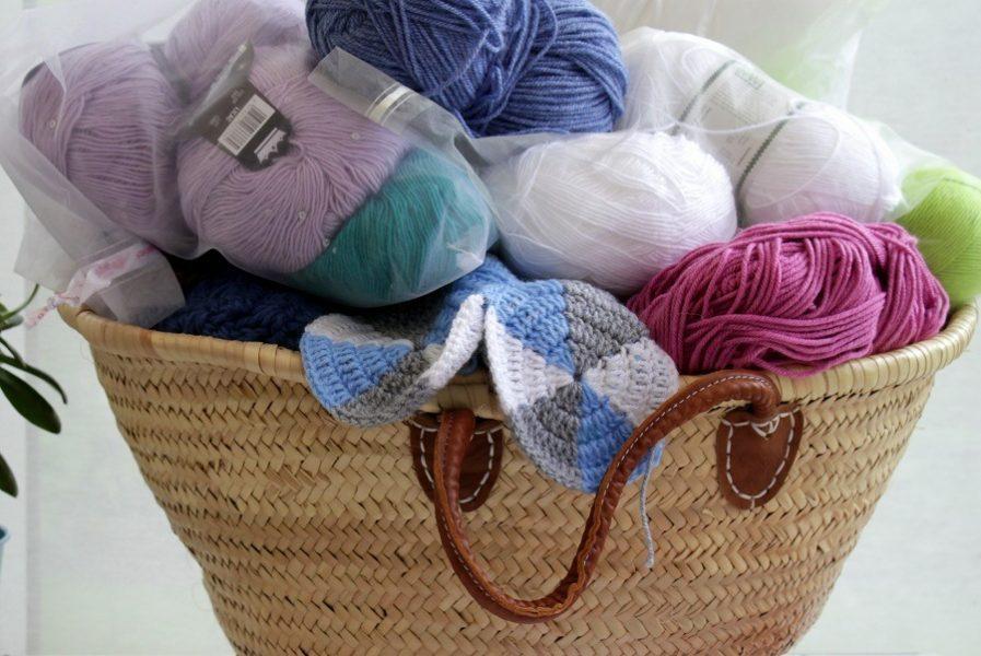 lazy daisy jones crochet inspiration wip basket