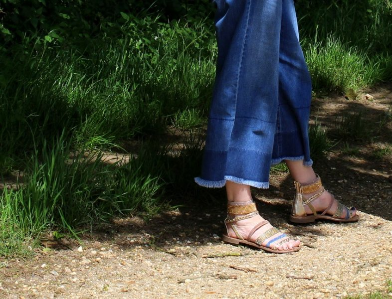 Love is... his and hers Lotus Shoes