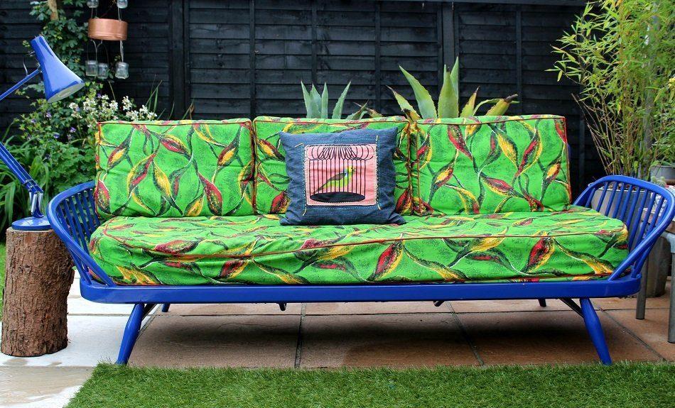 original restored ercol day bed studio couch