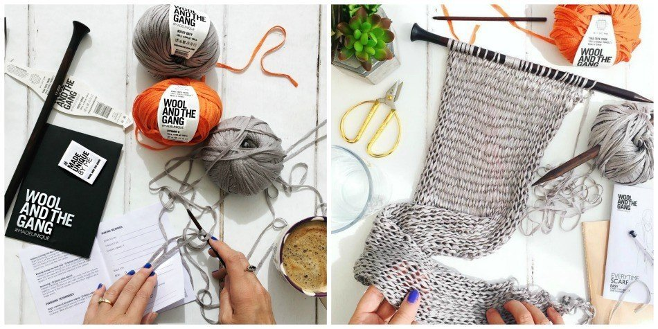 azy daisy jones' tina tape evertime scarf by wool and the gang
