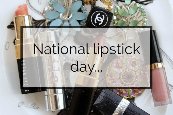 In Honour of National Lipstick Day…