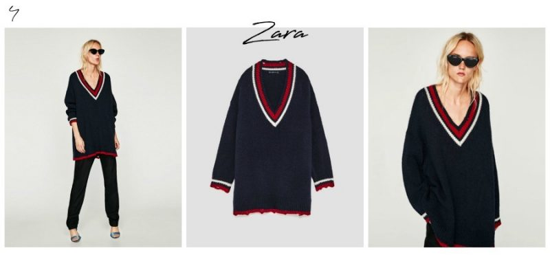 5 transitional a/w 2017 Knitwear from Zara by Lazy Daisy Jones