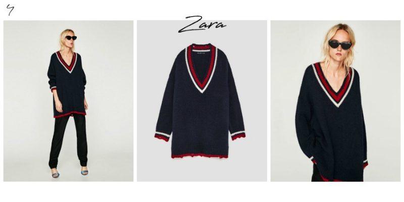 5 transitional a/w 2017 Knitwear from Zara by Lazy Daisy Jones