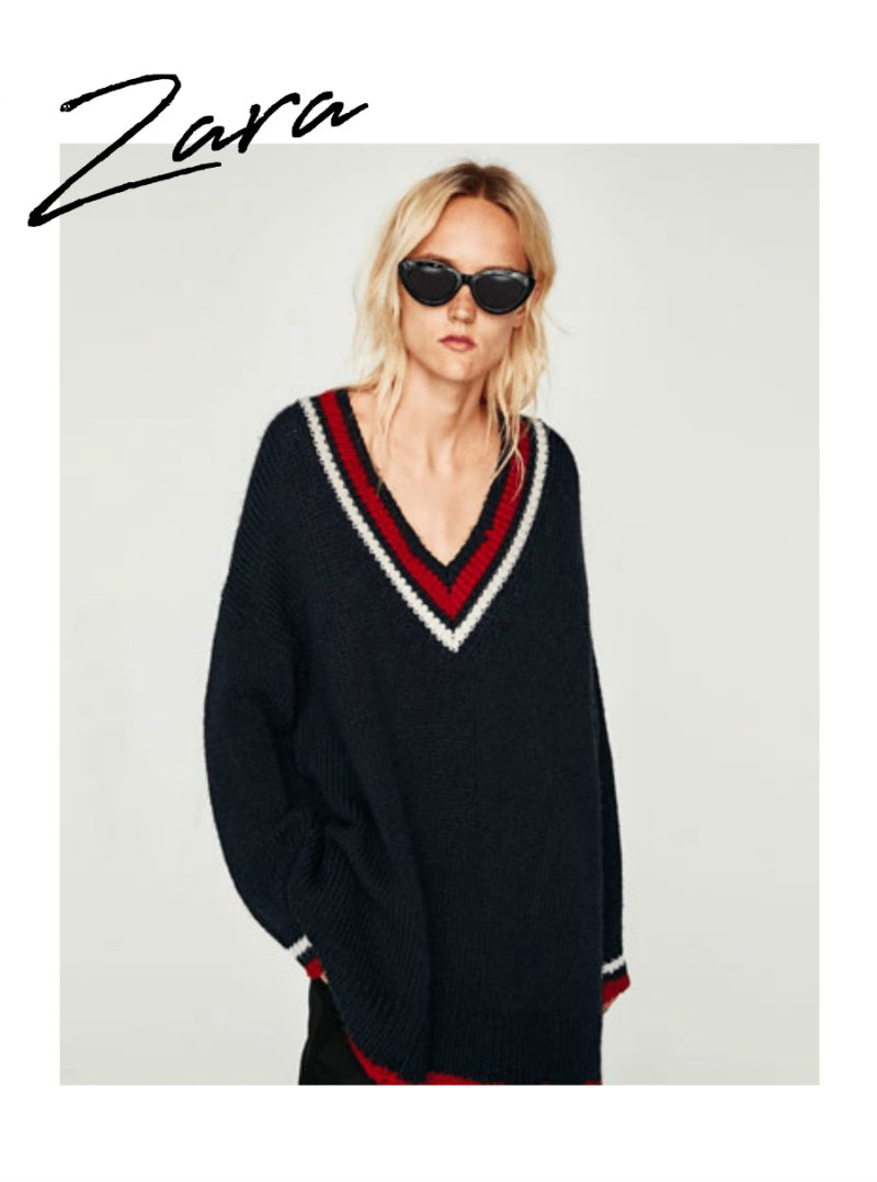 zara transitional knitwear 2017