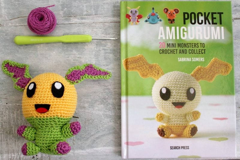 Mini Amigurumi by Sara Scales – Craft Book Review – Tin Teddy | 533x800