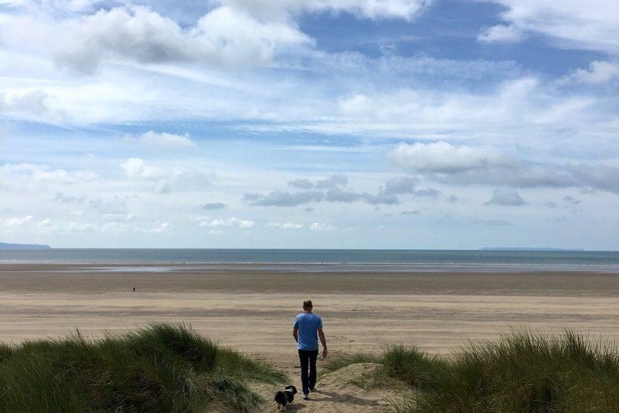 Braunton sands Devon Staycation say Hello Wave Goodbye!