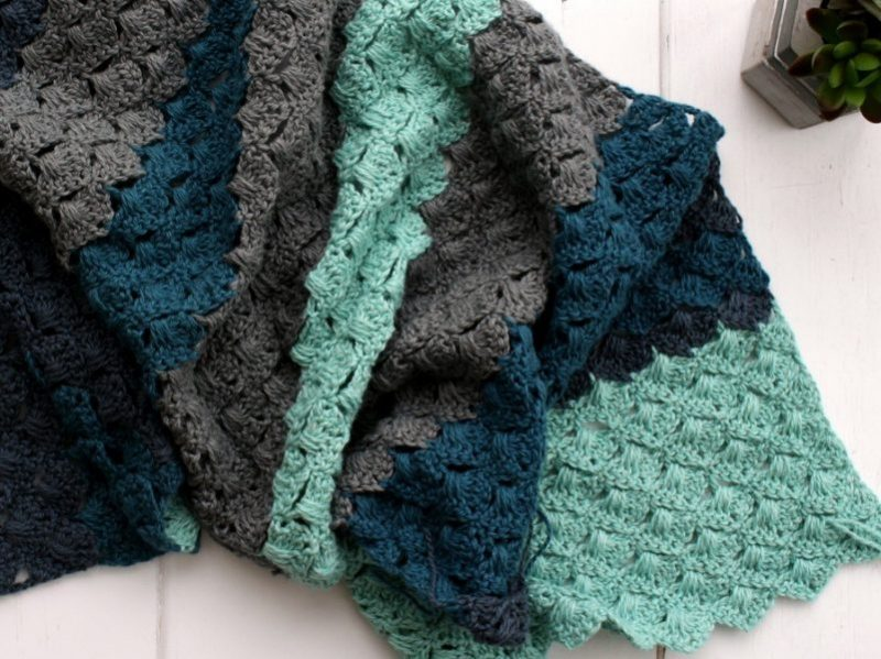 Crochet Shawl Needs a Name plus the Free pattern