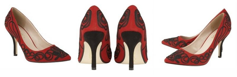 So on Trend, my Sexy Baroque Red Lotus Shoes