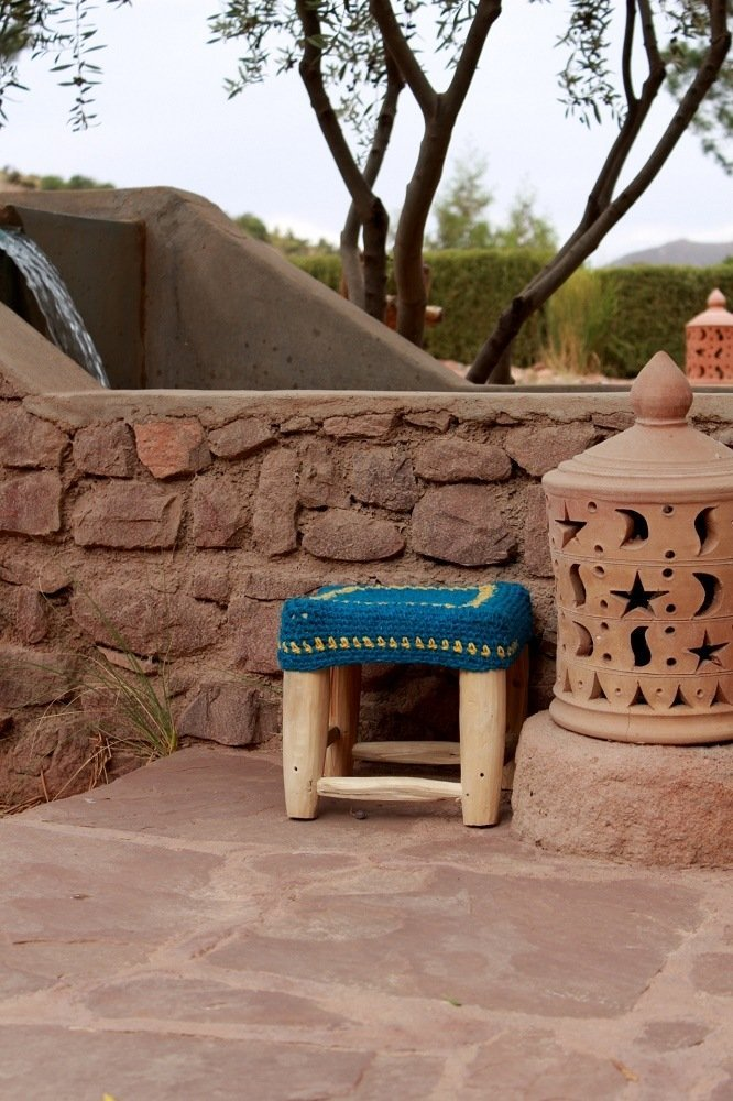 My Marrakesh story with Wood Wool Stool.