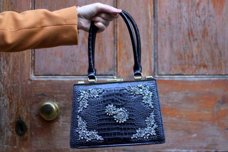 Lazy daisy Jones erdem bag goes to Frome