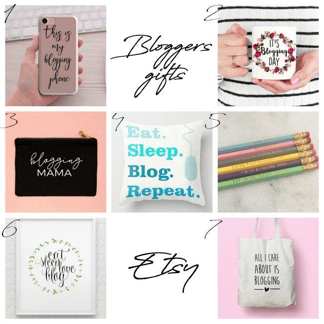 Etsy christmas gifts for bloggers by lazy daisy jones blog