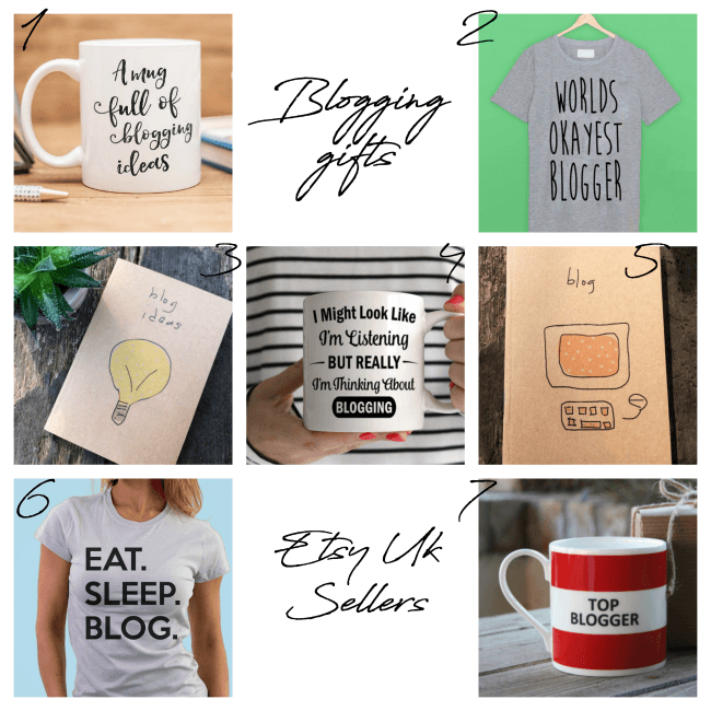 christmas gift ideas for bloggers Etsy Uk sellers
