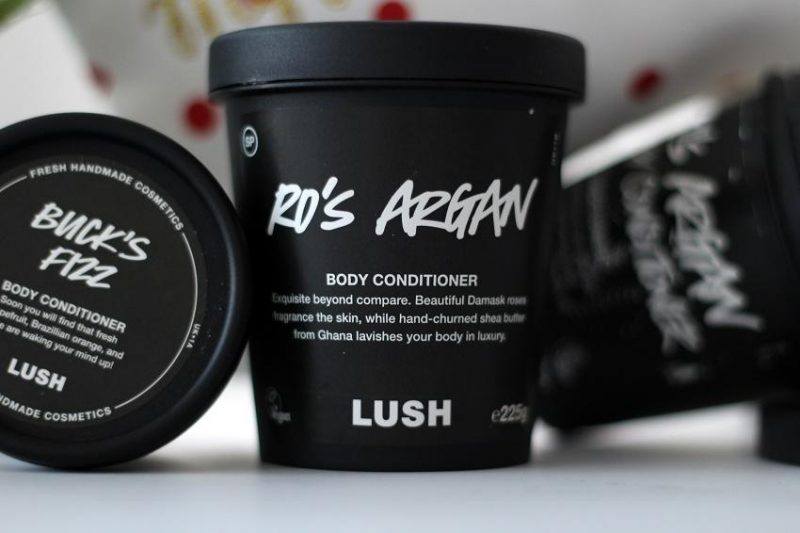 the Best Beauty Product of 2017 goes to lush's Ro's argan conditioner