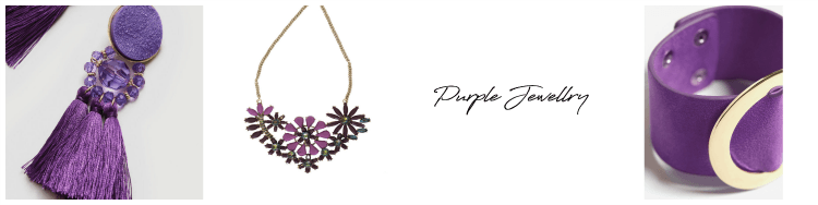 Pantone Ultra Violet Jewellry