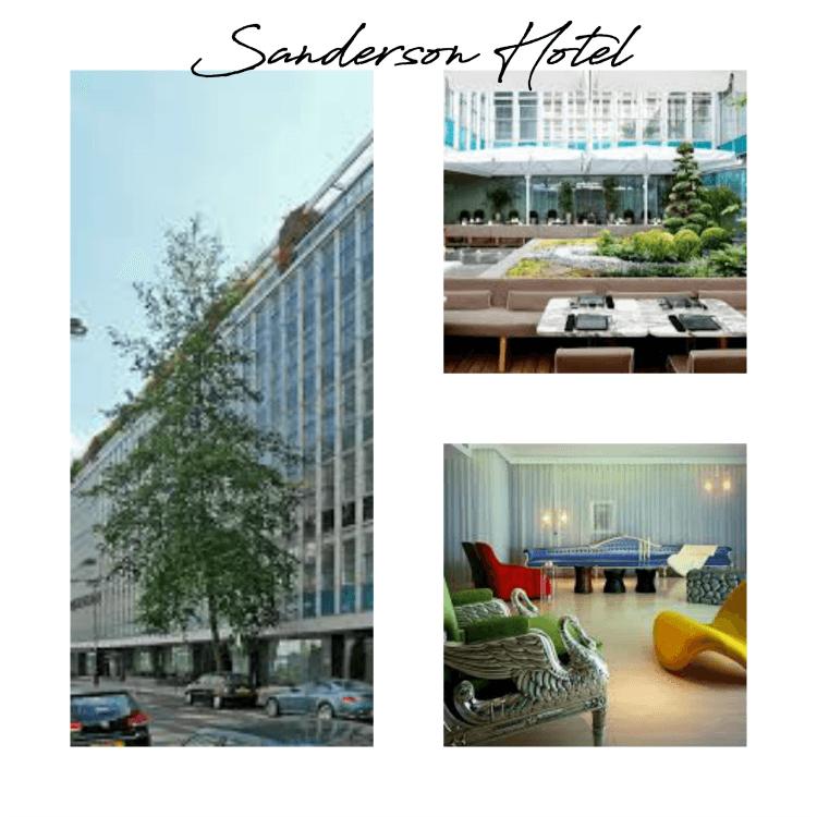 Sanderson Hotel Berners st.