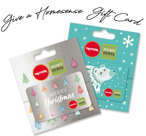 give a Homesense Gift card