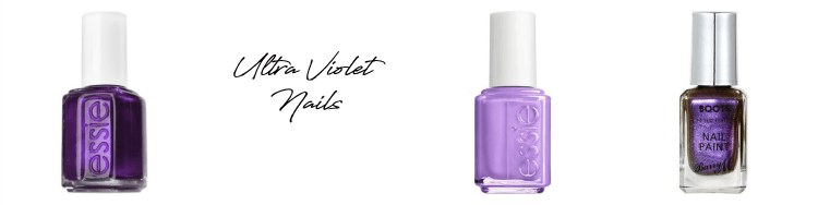 pantone ultra violet nails