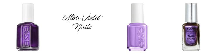 pantone ultra violet nails