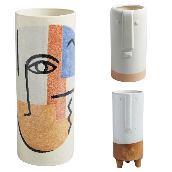 3 vases from new habitat s/s 18