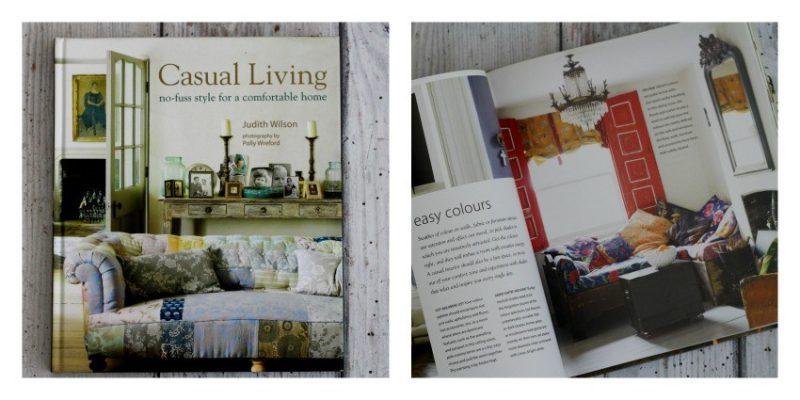 casual living interior design book