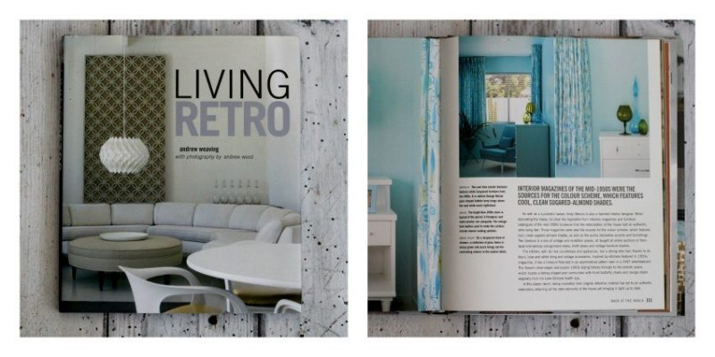 living retro interior design book