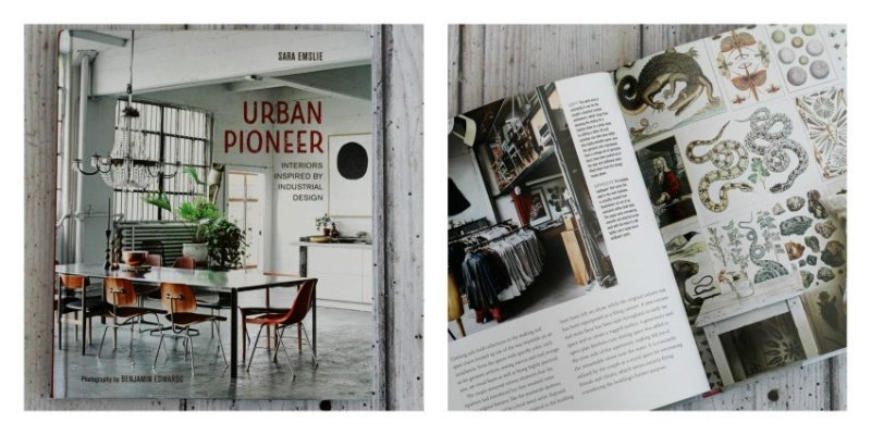 Image of the urban pioneer interior design book