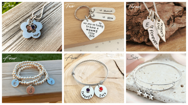Etsy Personalised Jewellery 12 Mother's Day Gift Ideas