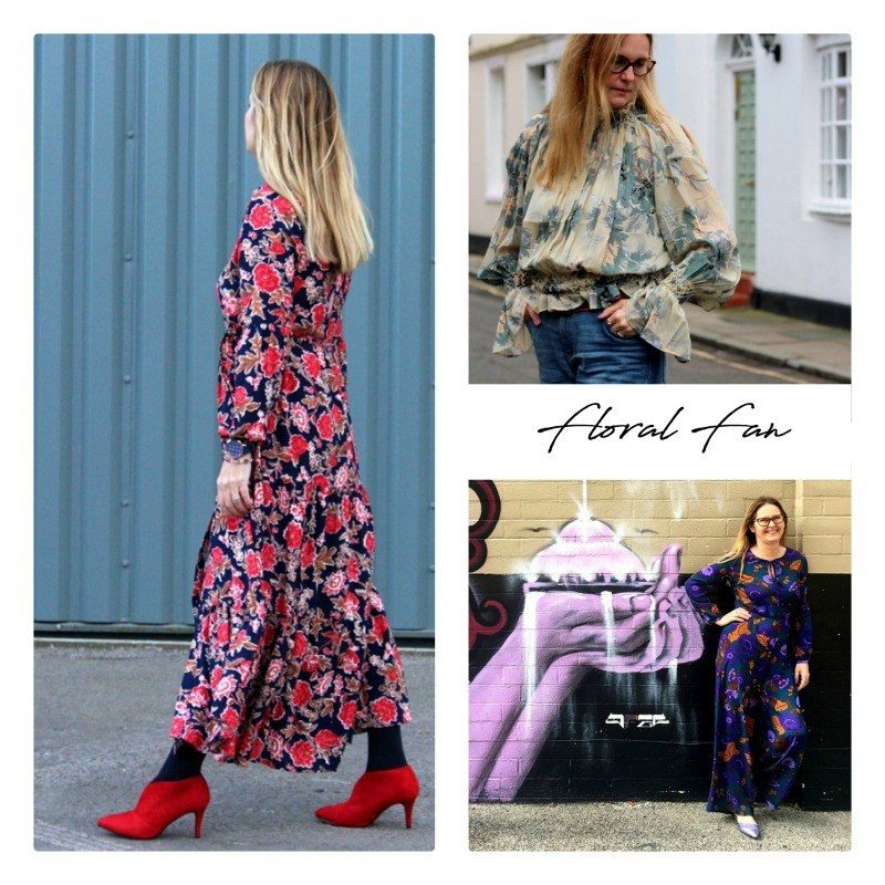 Midlife fashion lets chat about florals and personal style...