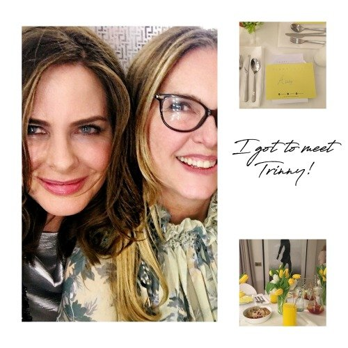 I met Trinny Lately 5 Things I got up to in January 2018