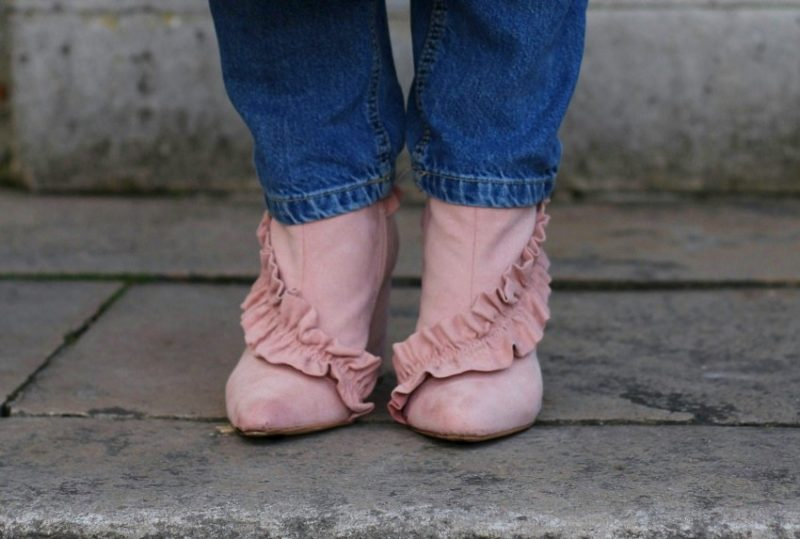 Let's talk about those Pink Frilly Boots
