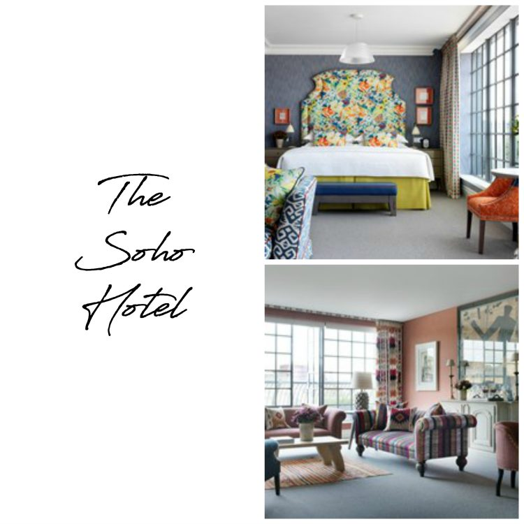 5 London Boutique Hotels on my 'to do' list The Soho hotel