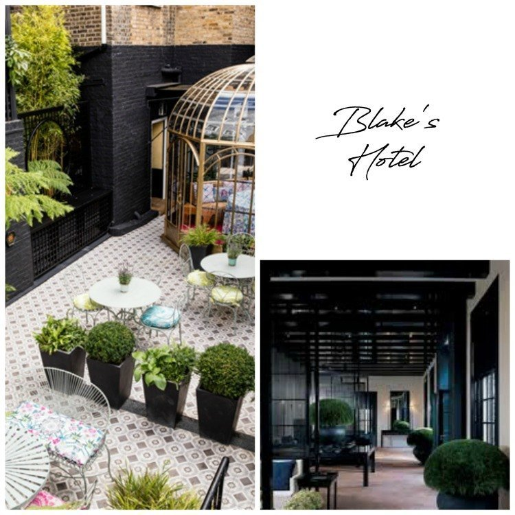5 London Boutique Hotels on my 'to do' list Blakes