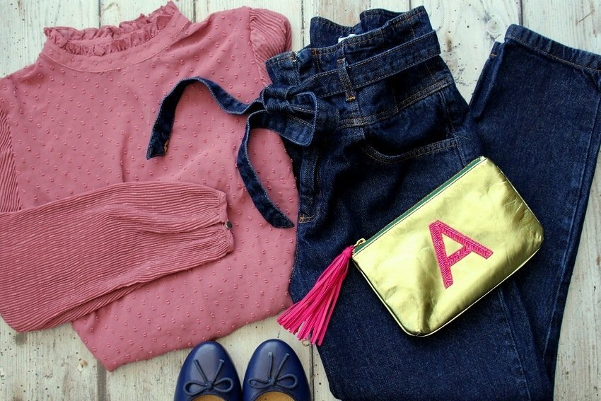 5 Outfits for Everyday Casual Wear, Flat Lay style!