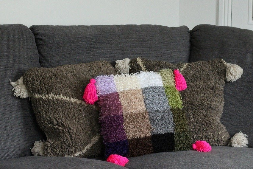 Moroccan Style Crochet Cushion Cover