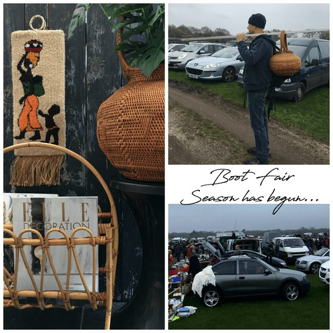 Boot Fairs Season Has Started & We Found Treasure