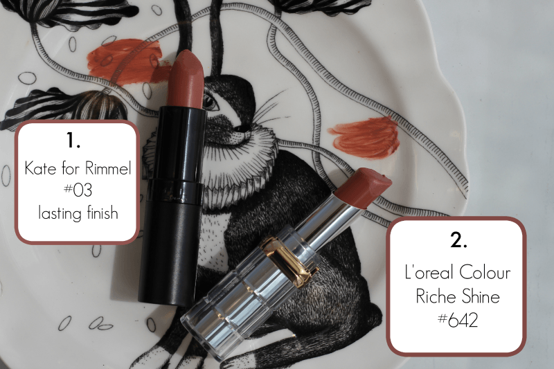 Nude Lipsticks & New Makeup Tools Reviewed